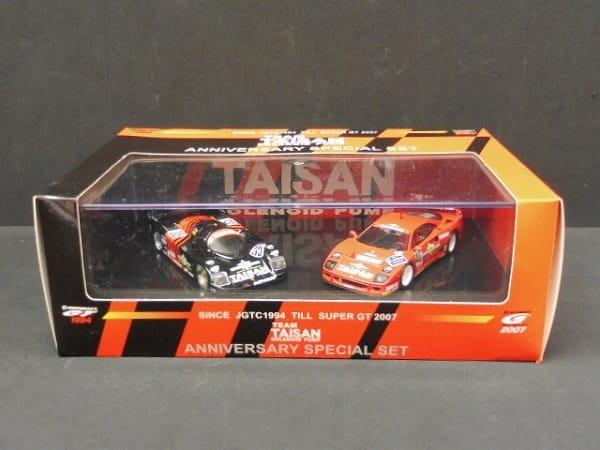1/43 タイサン スターカード 962GT F40 DVD付 記念SET