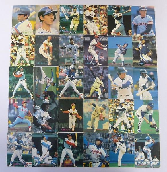 カルビー 当時 プロ野球 チップス カード 1983年 No.149~187