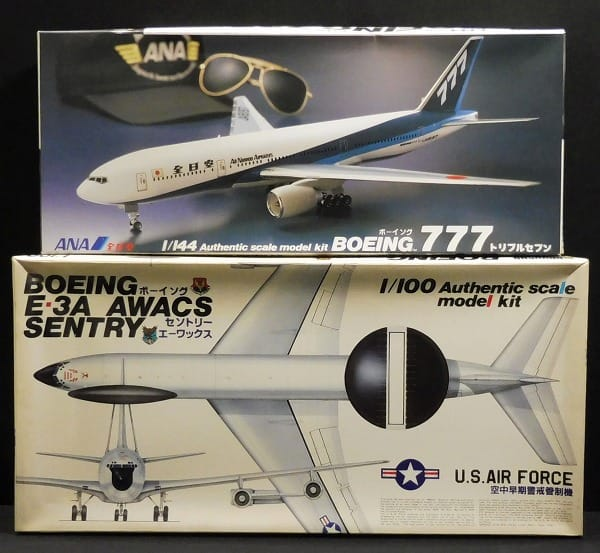 童友社 1/144 ボーイング777 全日空 , 1/100 E-3A AWACS