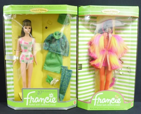 マテル バービー フランシー人形 30th アニバーサリー