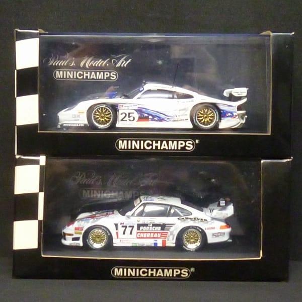 1/43 ミニチャンプス ポルシェ 911 GT 1 2 ルマン 1997