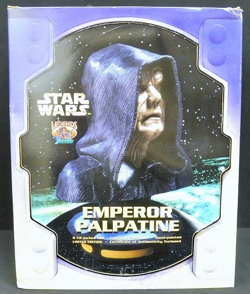 Legends in 3 Dimensions STAR WARS 銀河帝国皇帝 胸像