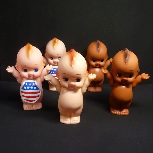 キューピー人形 ソフビ アメリカン 褐色 他