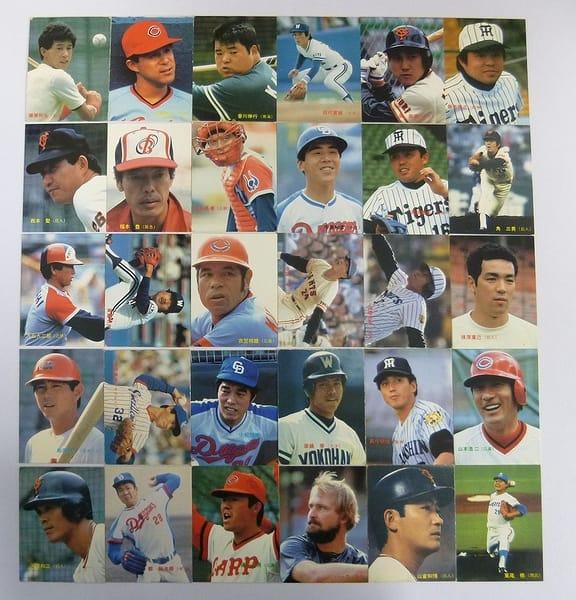 カルビー 当時 プロ野球 チップス カード 1985年 No.1~35