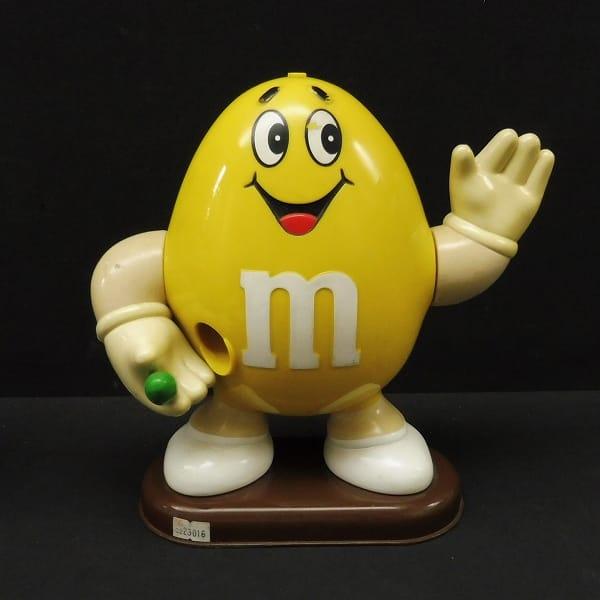 M&M ビッグチョコディスペンサー イエロー / フィギュア