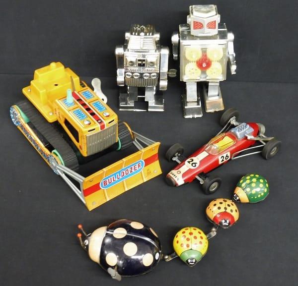 ゼンマイ 玩具 当時物 ブリキ / 野村トーイ トープレ