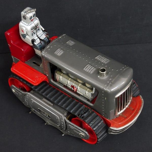 野村トーイ 日本製 ロボット トラクター 当時物 / 昭和