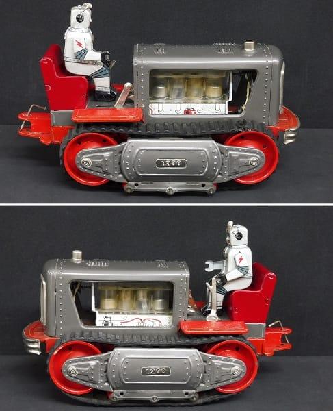 野村トーイ 日本製 ロボット トラクター 当時物 / 昭和_2