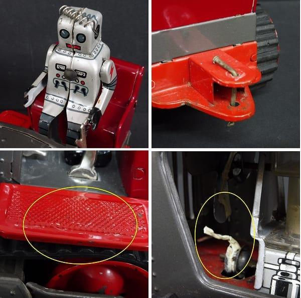 野村トーイ 日本製 ロボット トラクター 当時物 / 昭和_3