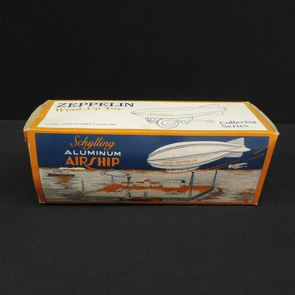 Schylling ゼンマイ式 飛行船 Zeppelin / ブリキ アルミ