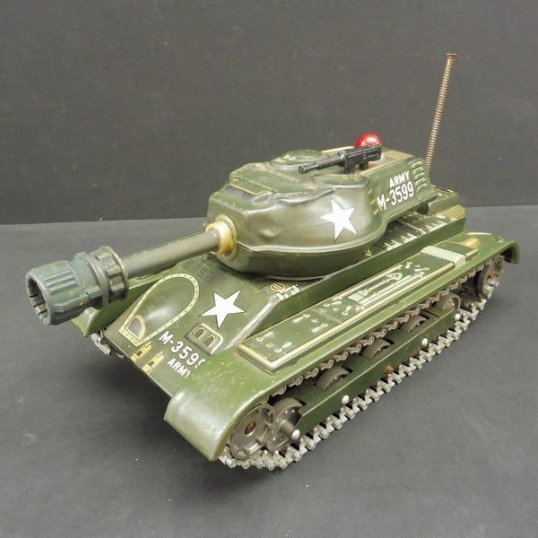 ブリキのおもちゃ 当時物 戦車 M-3559 マスダヤ / 電動