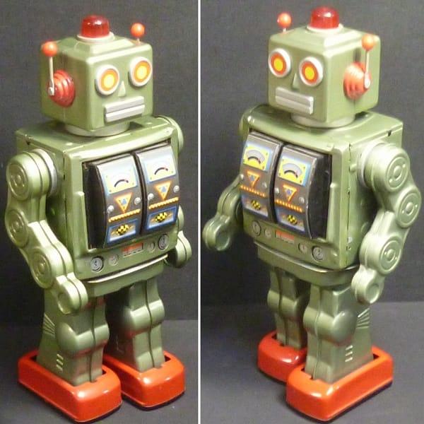 メタルハウス スターストライダーロボット グリーン_3
