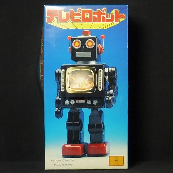 メタルハウス テレビロボット walking TELEVISION ROBOT