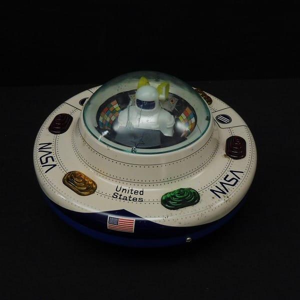 マスダヤ NASA円盤 電動 当時物 ブリキ / 宇宙船