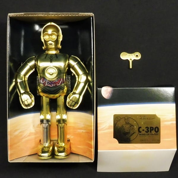 大阪ブリキ玩具資料室 限定  STARWARS C-3PO ゼンマイ_2