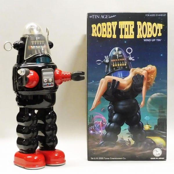 大阪ブリキ玩具資料室 限定 ロビー ザ ロボット 黒