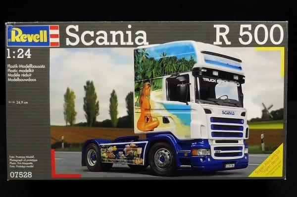 レベル 1/24 スカニア Scania R500 トレーラーヘッド_1