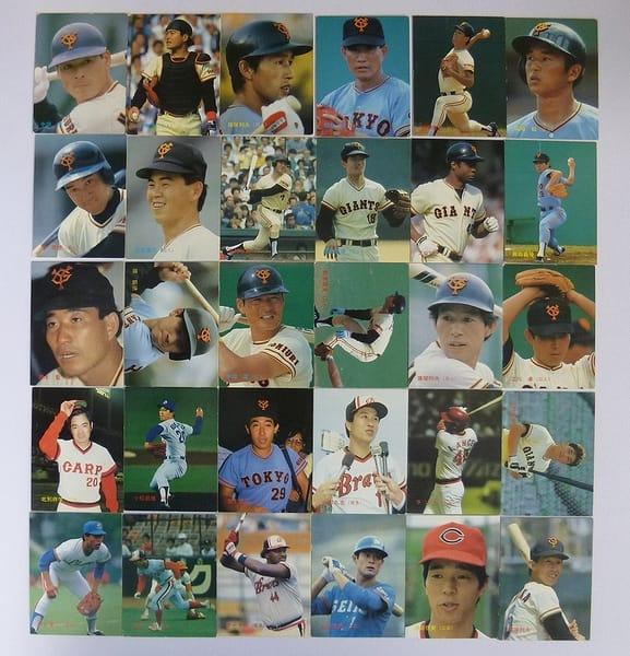 カルビー 当時物 プロ野球 カード 1987年 30枚 158~189_1