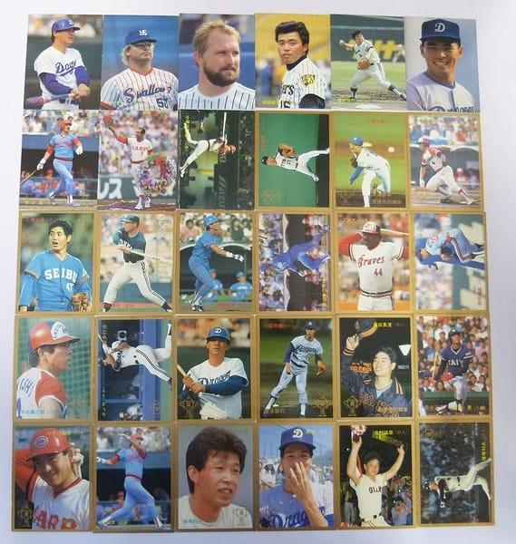 カルビー 当時物 プロ野球 カード 1987年 30枚 318~348_1