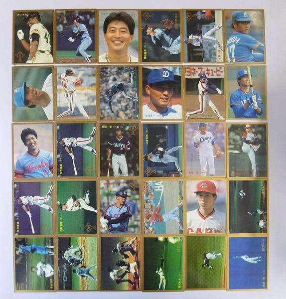 カルビー 当時物 プロ野球 カード 1987年 30枚 349~382_1