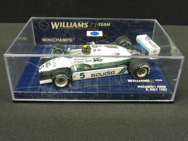 ミニチャンプス 1/43 ウィリアムスF1 FW08 D.デイリー_1