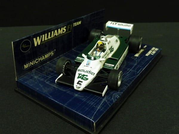 ミニチャンプス 1/43 ウィリアムスF1 FW08 D.デイリー_2