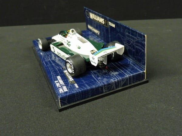 ミニチャンプス 1/43 ウィリアムスF1 FW08 D.デイリー_3