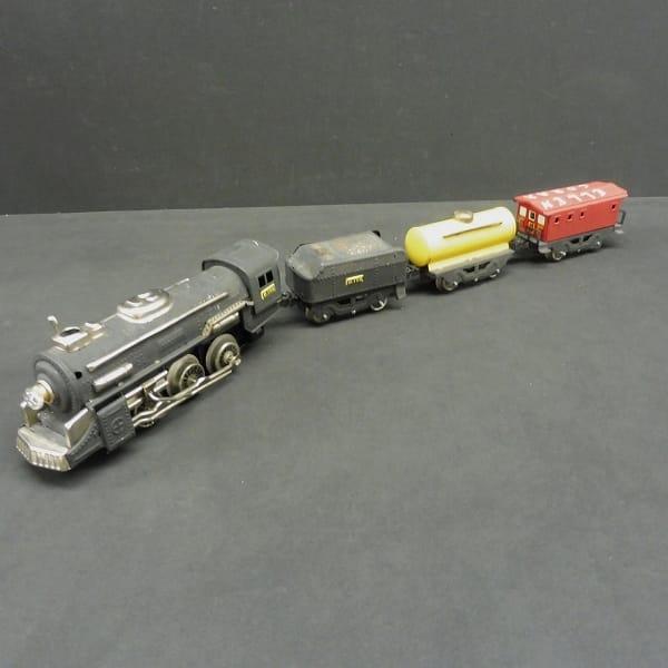 ヨネザワ CRAGSTAN 当時物 ブリキ 貨物 機関車 / 電動_2