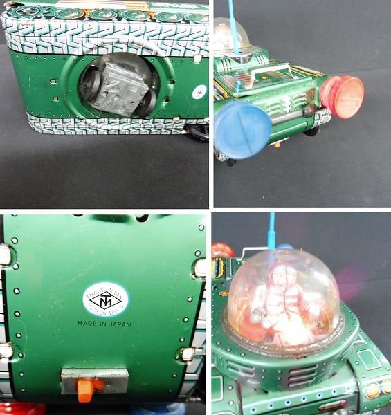 マスダヤ 当時物 電動ブリキ 戦車 Space Tank_3