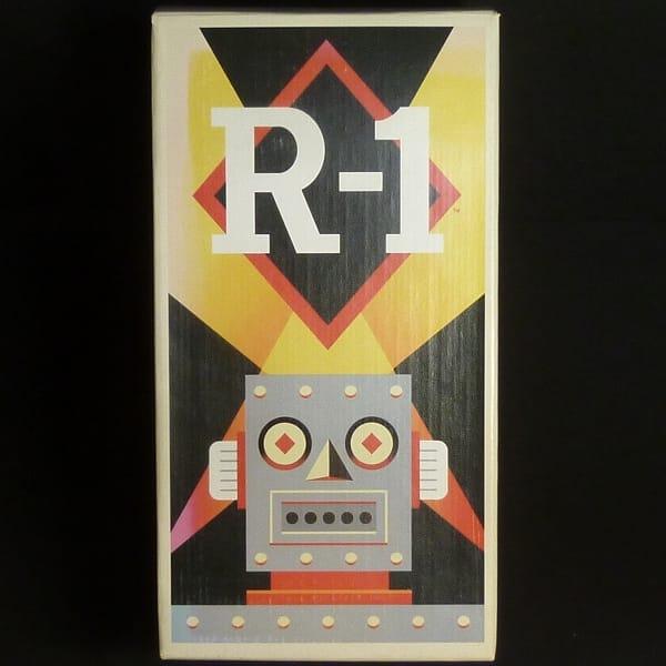マスダヤ 復刻版 R-1 ロボットワン グレー ブリキ 電動_1