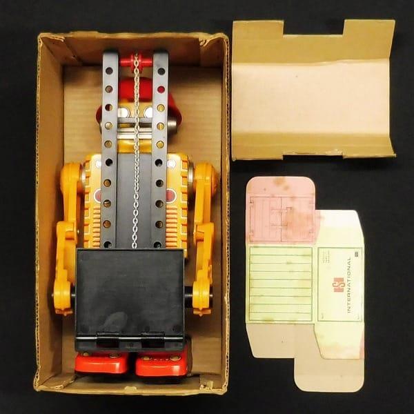 ホリカワ 堀川玩具 フォークリフトロボット 当時 ブリキ_2
