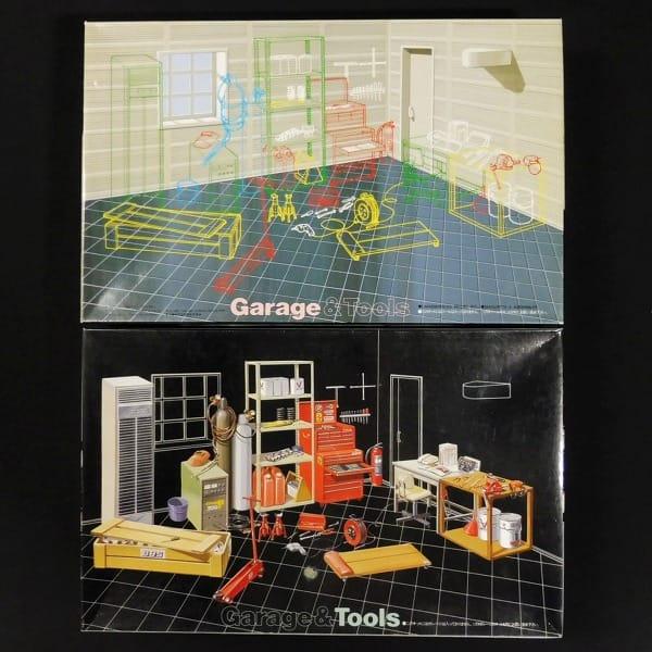 フジミ 1/24 ガレージ&ツール Garage&Tools / ジオラマ_1