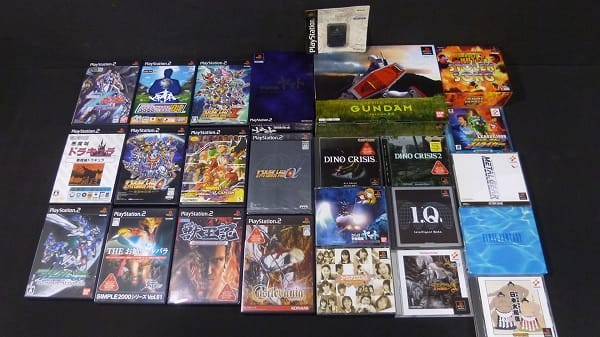 PS PS2 ソフト ヤマト FF スパロボ 悪魔城 I.Q 他_1