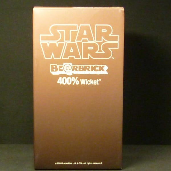 BE@RBRICK STARWARS 400% ウィケット 限定 / Wicket_1