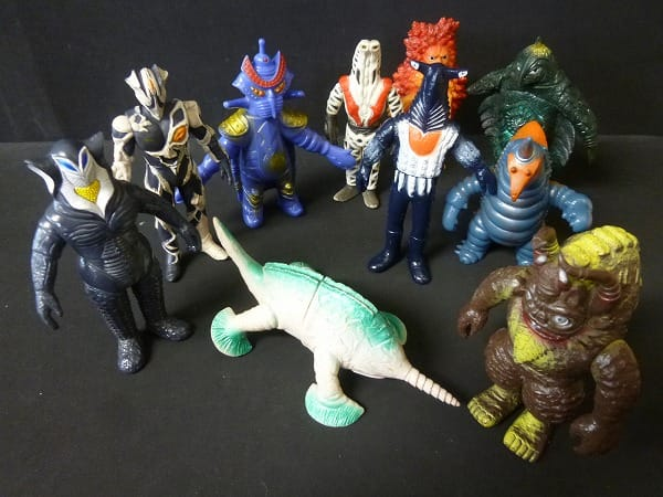 ウルトラ怪獣 ソフビ 日本製 ガラモン カネゴン 他_2