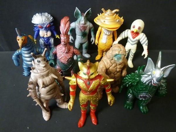 ウルトラ怪獣 ソフビ 日本製 ガラモン カネゴン 他_3