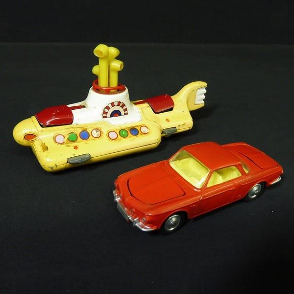 CORGI ビンテージ イエローサブマリン VW カルマンギア
