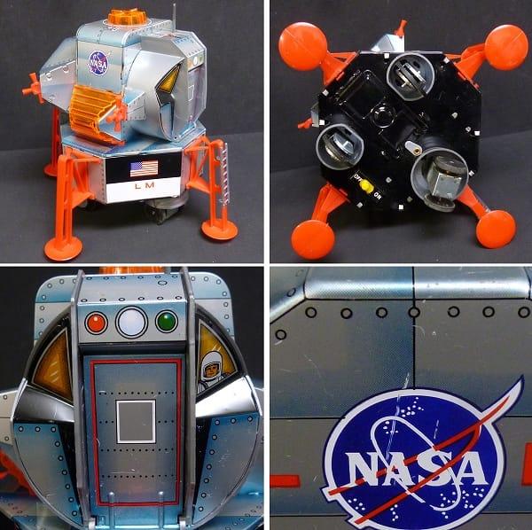 大進興業 アポロ11号 EAGLE LUNAR MODULE 電動ブリキ_2