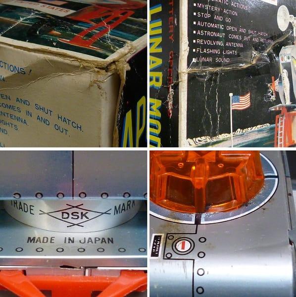 大進興業 アポロ11号 EAGLE LUNAR MODULE 電動ブリキ_3