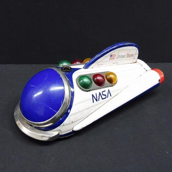 マスダヤ 当時物 電動ブリキ NASAスペースカー 宇宙船