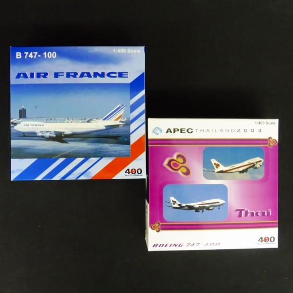 BigBird 1/400 ボーイング B747 タイ航空エールフランス