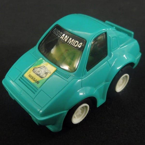 チョロQ A品番 A-85 日産 MID4 緑モーター 当時 日本製