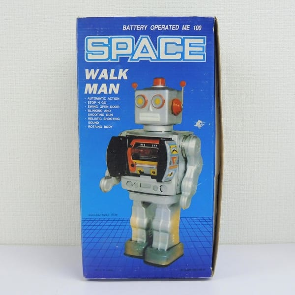電動ブリキ おもちゃ ロボット スペースウォークマン