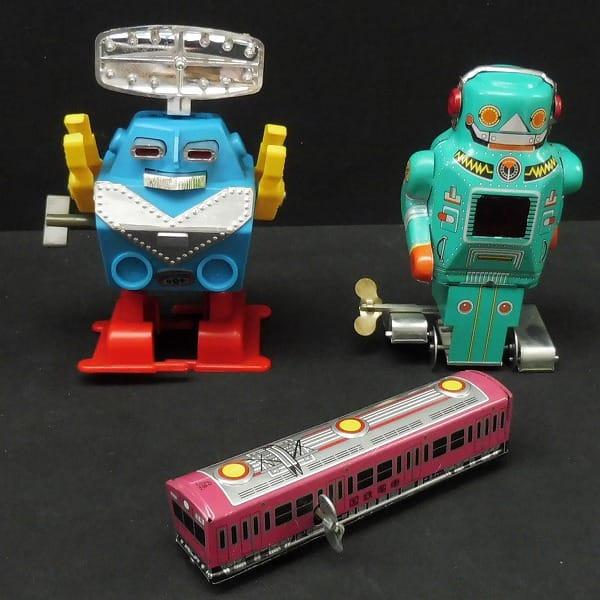 ゼンマイ式玩具 ブリキ / ヨコタ イチコー トープル