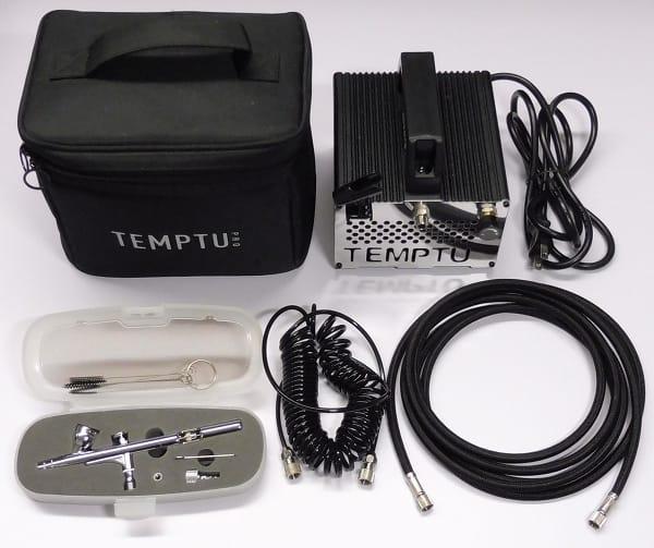 TEMPTU メイク用 エアブラシ コンプレッサー セット