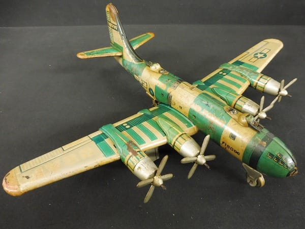 日光玩具 当時物 ビンテージ ブリキ B-50 フリクション