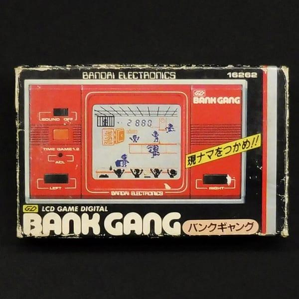 バンダイ LCD GAME DIGITAL バンクギャング BANK GANG