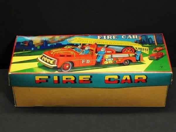 米澤 ヨネザワ 消防車 FIRE CAR / フリクション ブリキ