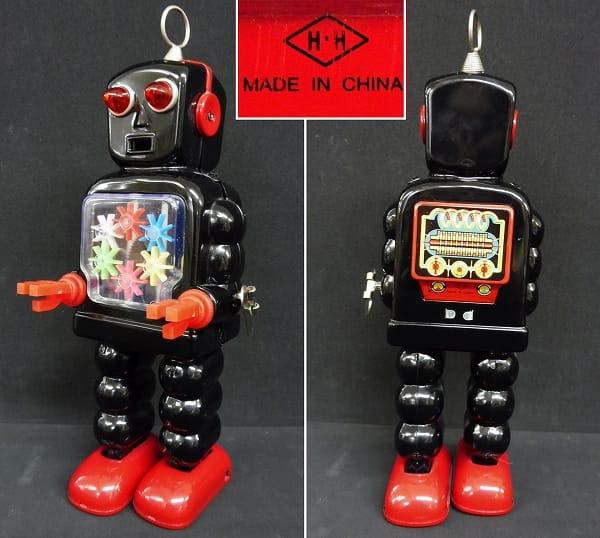 HAHATOY 復刻 ブリキ ハイホイール プラネット ロボット_2
