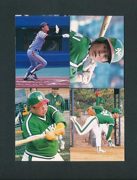 カルビー プロ野球 カード 1980年 No.15 38 43 46 大判
